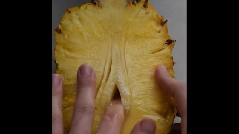 Развратный ананас , что может быть лучше | TASTY , food time , food porn