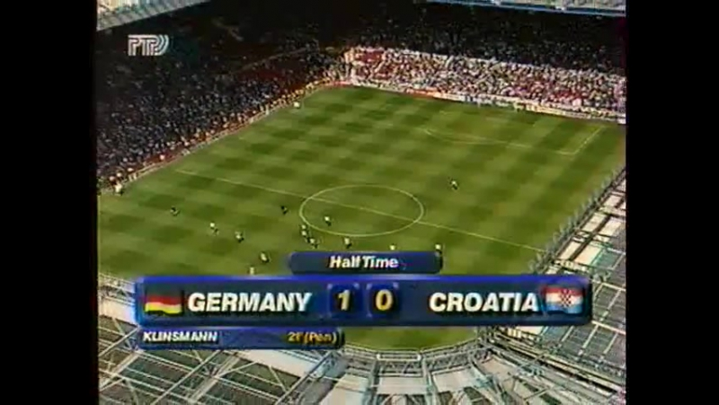 ЧЕ-96 Германия-Хорватия
