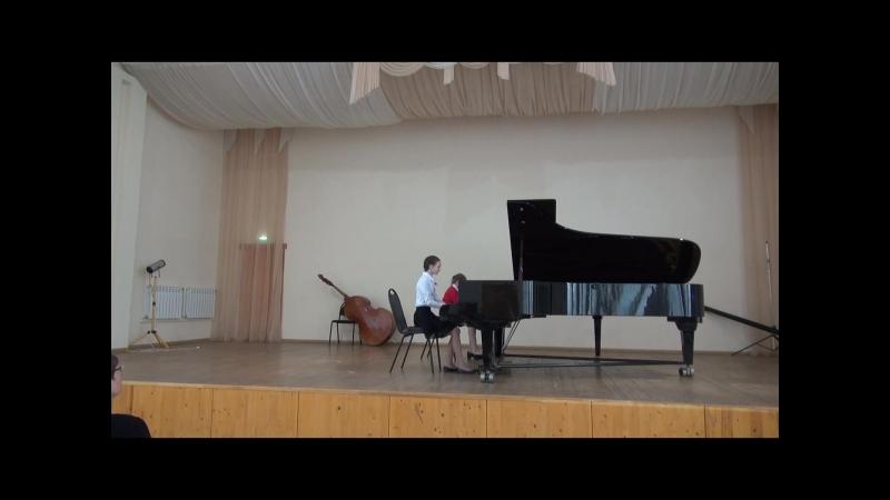 ансамбль 4 класс Детская музыкальная школа для одарённых детей им.Л.И.Шугома