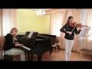 Сектор Газа - 30 лет - кавер на скрипке пианино