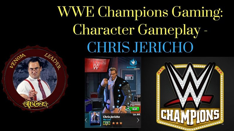 WWE Champions Character Gameplay: Chris Jericho
