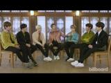 180215 BTS Reveal Their Favorite Movie, Guilty Pleasure &amp More @ Billboard