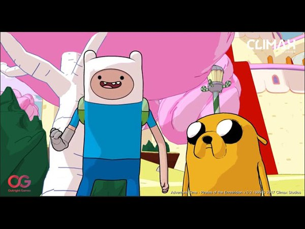 Adventure Time: Pirates of the Enchiridion (PRE-ALPHA FOOTAGE - PS4/XBOX ONE/STEAM/NINTENDO SWITCH)