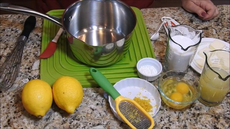 ЛИМОННАЯ ВКУСНЯТИНА к чаю. Обожают Все! Американская Кухня. Lemon Cream, Kurd