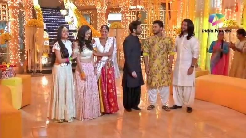 Rudra And Bhavya's Wedding Rituals Begin - Ishqbaaaz - Star Plus.mp4