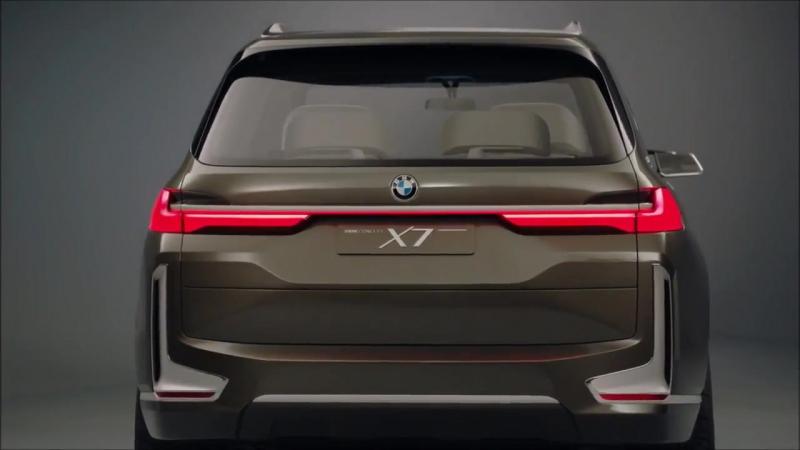 BMW X7 напоминает новый rav 4