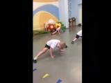 АкробатикаДетский сад 77Тренер Бабич Полина Николаевна