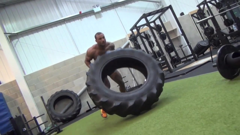 DAVE MCINTOSH - MARINES CHALLENGE - WORKOUT WAR CIRCUIT