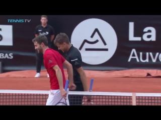 Чемпионский матч-бол Тима в Лионе