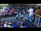 Барабаны на параде 1 мая