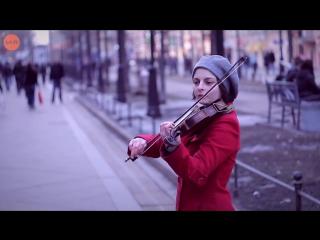 Уличные музыканты [Скрипачка на Ваське] LAK TV
