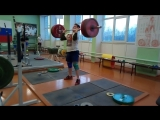 Артур Бабаян-02 г/р-толчок-170 кг. (90%).