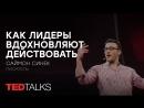 Как лидеры вдохновляют действовать   Писатель Стивен Кейв   TED TALKS