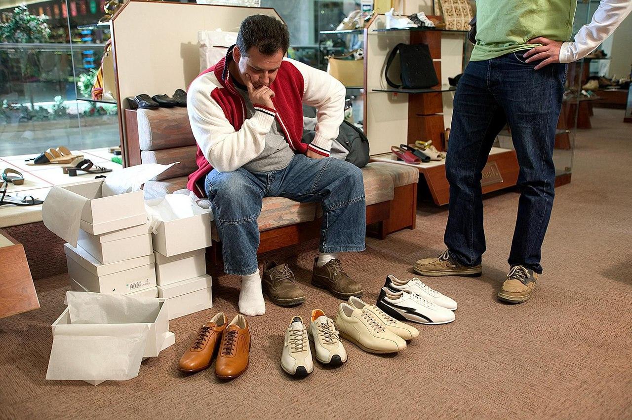 Какая она лучшая обувь для мужчин?