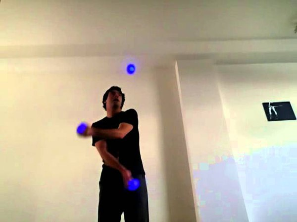101 Juggling Tricks Tutorial 30 Float Under move