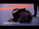 PURPLE BELTS IBJJF NO-GI PAN NY 09.29.17 NY Girls Grappling Women Wrestling BJJ Female Fight