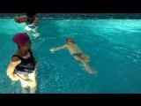 Серова Таисья, 2,6 года освоила плавание на спине..
