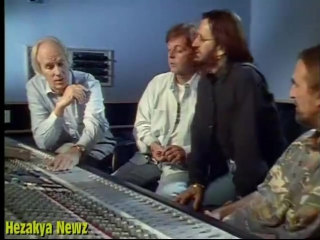 The Beatles REUNION At Abbey Road Studios In 1994.