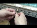 [가죽공예 GNL TV] 트위스트 팔찌 만들기 (D.I.Y leather twist bracelet with 4 strap) - YouTube [720p]