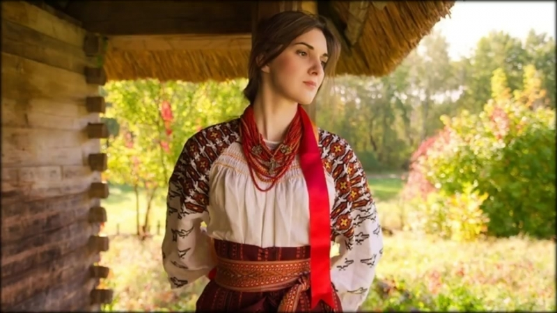 Зелене листя, білі каштани - Чудова українська пісня... [Українські пісні] [Музика]