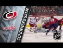 Матч на русском: Carolina Hurricanes vs Washington Capitals - Март 30, 2018