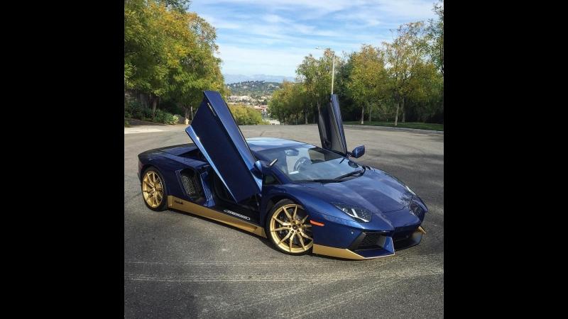 Lamborghini on Rodeo Drive _ NBA All Stars Weekend