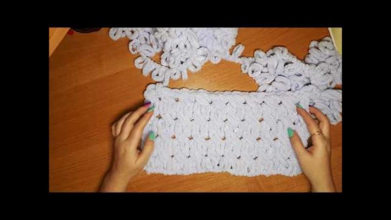 Узор 1 из Alize Puffy для детского пледа
