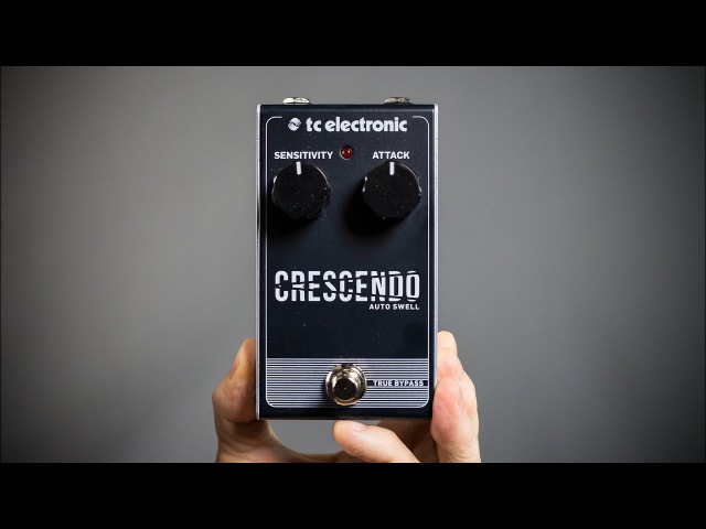 $500 Ambient Guitar Pedalboard Crescendo Auto Swell! (TC Electronic)