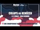 COLAPS vs KENÔZEN - 1/2 Solo Homme - 2017 French Beatbox Championships