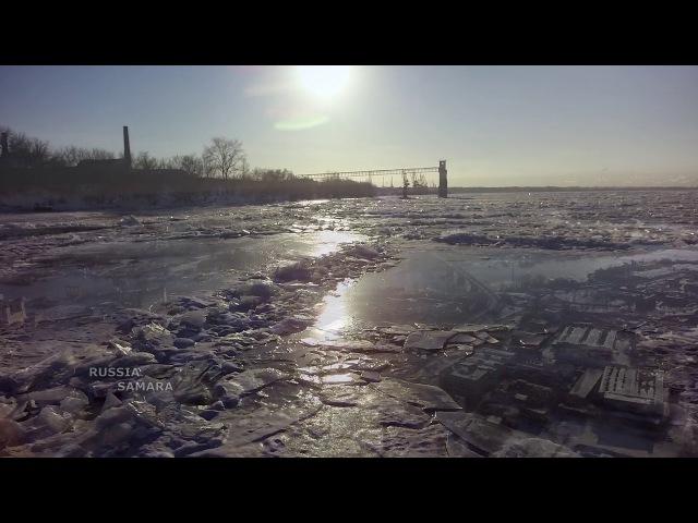 Зима / река Волга Cамара Samara Russia