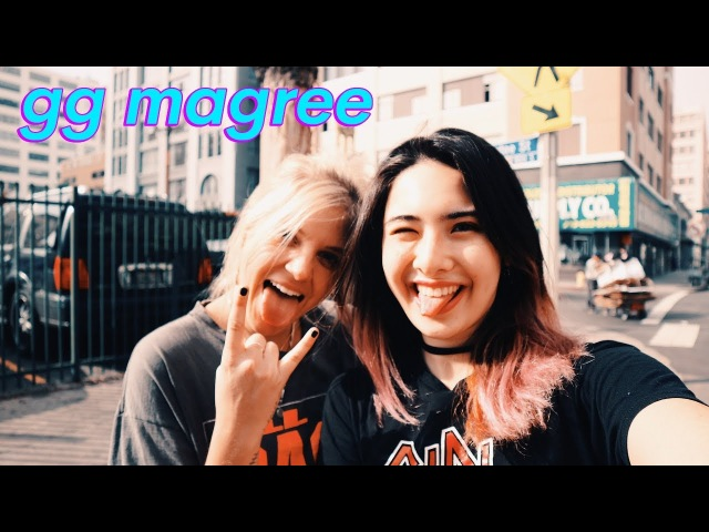 GG MAGREE Interview- song w/ NGHTMREJAUZ, performing w/ Pharrell, Wu Tang Clan, T-Pain