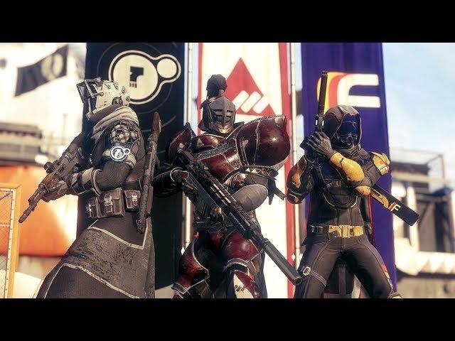 Destiny 2(ПК) Гонка фракций(Много новинок оружия этой гонки)