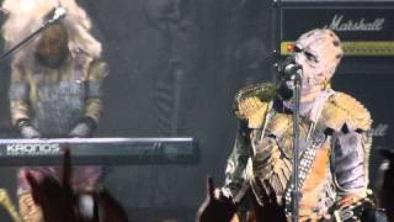 Lordi - Hard Rock Hallelujah (29.05.2014, Crocus City Hall, Moscow, Russia)