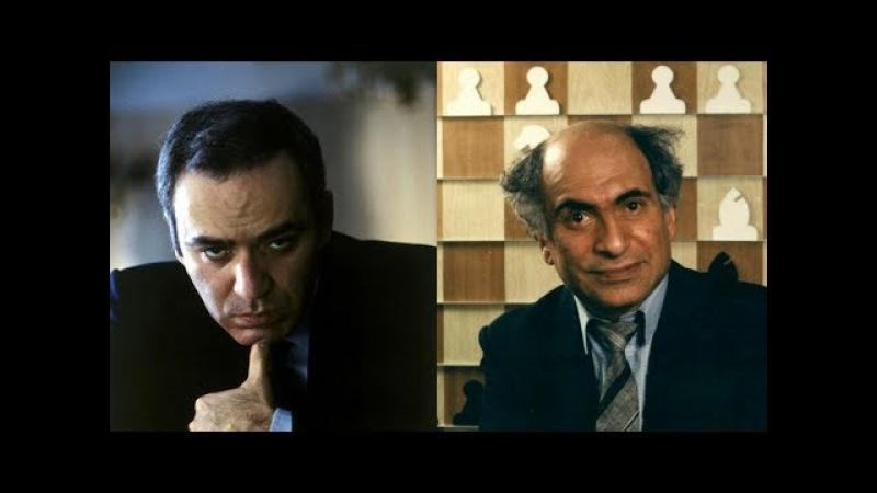 Шахматы. Каспаров -Таль: красивый поединок двух Шахматных Королей!