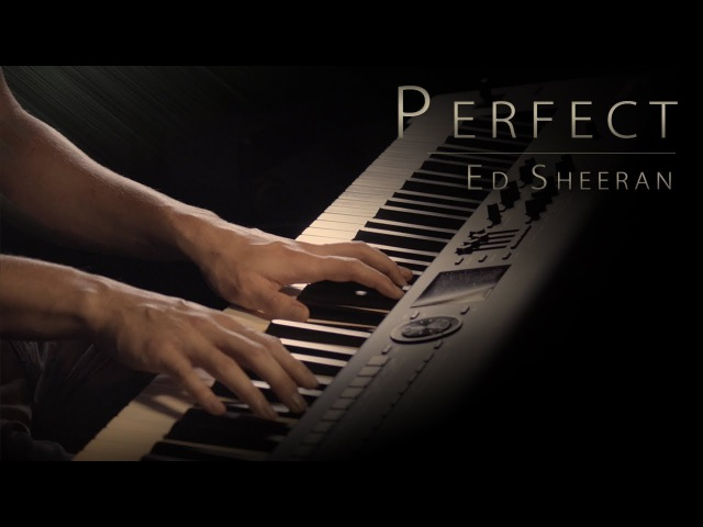 Ed Sheeran Perfect Piano Cover Jacob's Piano