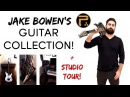 Jake Bowen's Guitar Collection Studio Tour! (Periphery)   Ibanez Guitars   Djent/Progressive Metal