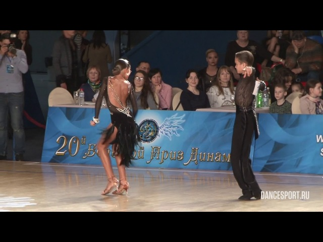 Zakhar Goncharov - Natalia Krashchenko, RUS, 14 Samba