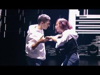 Танцы: Виталий Уливанов и Юля Гаффарова (сезон 4, серия 17) из сериала Танцы смотре ...