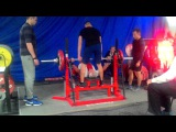 Vasiliy Motovilnik RAW bench press 141kg@74kg, 60 year old