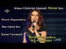 Merem Magomedova Rus Kız Karar Veremedi O Ses Türkiye 19 Kasım 2017