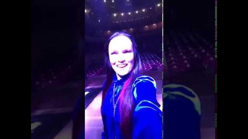 Tarja Soundcheck @Rosario 2017 from Periscope