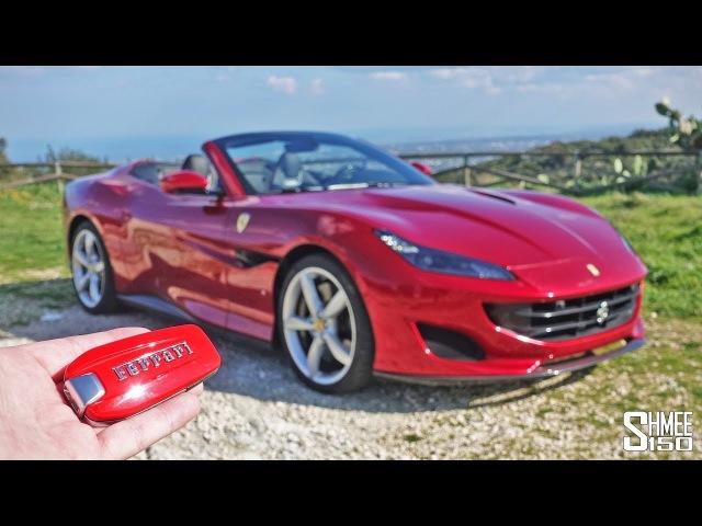 Ferrari Portofino - The Best Looking Convertible Ferrari Ever? | TEST DRIVE