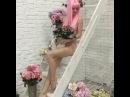 """Actress 🎬❤️ on Instagram: """"Самый розово-цветочный вечер🌸💗🍬🍭🎀💗 @kseniavershinina прости за спойлер, но не могу не показать эту красоту 🙈 барби р..."""