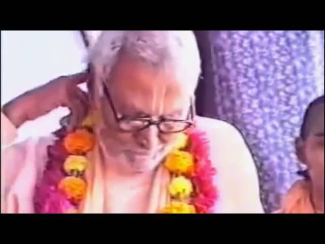 Шрила Б Р Шридхар Госвами Махарадж Выражение почтения Шриле Бхактисиддханте С