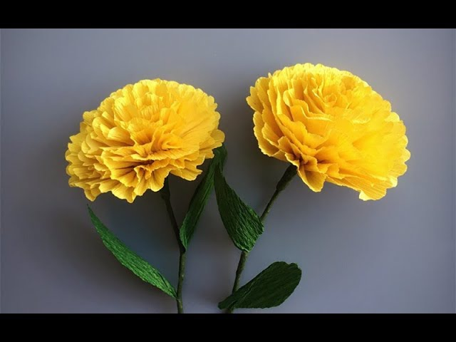 ABC TV | How To Make Paper Flower From Crepe Paper 2 - Easy Craft Tutorial