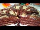 Торт постный Брауни, цыганка готовит. Gipsy cuisine.