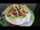 Торт Павлова hướng dẫn làm bánh kem Pavlova sinh nhật clip làm bánh kem hướng dẫn làm meringa