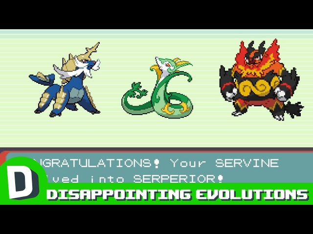 More Pokemon Who Are Disappointed With Their Evolutions