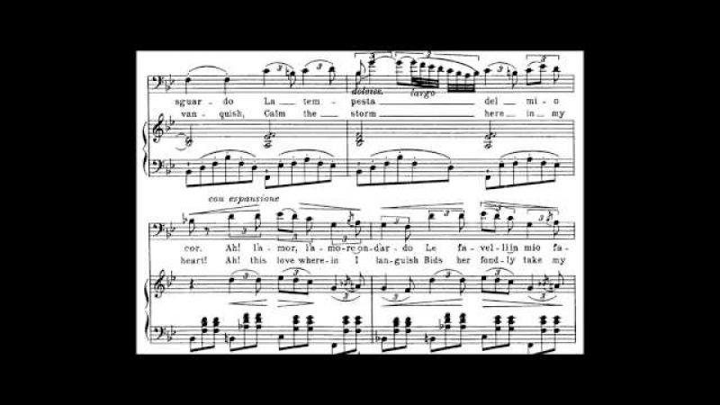 Il Balen del suo sorriso - Score Animation - voice: Dmitri Hvorostovsky