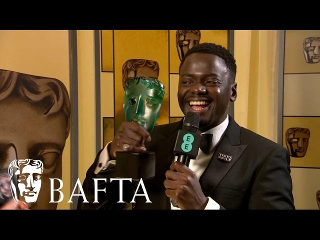 Daniel Kaluuya   Backstage Interview   EE BAFTA Film Awards 2018